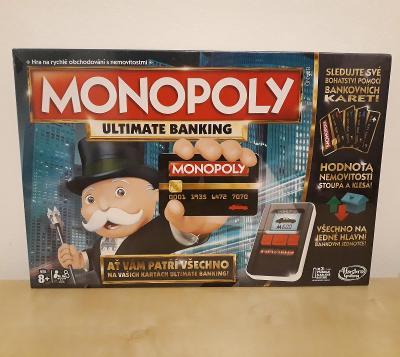 Monopoly Ultimate banking, nové, zabalené