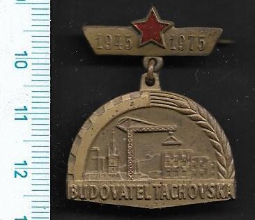 Vyznamenání - Budovatel Tachovska /FA-VK.108