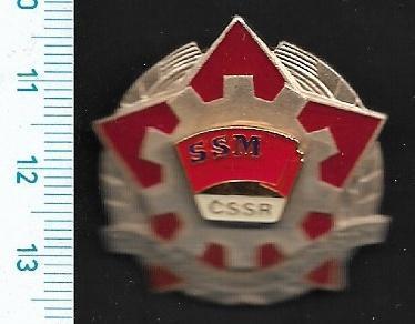 Vyznamenání - SSM Za pracovní úspěchy /FA-VK.140