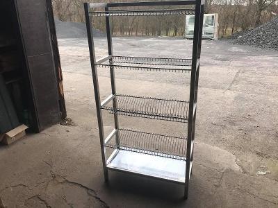 Odkapávací regál 70x35x160 cm