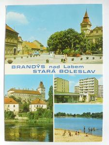 Brandýs nad Labem - Stará Boleslav - sídliště - koupaliště Probošťák