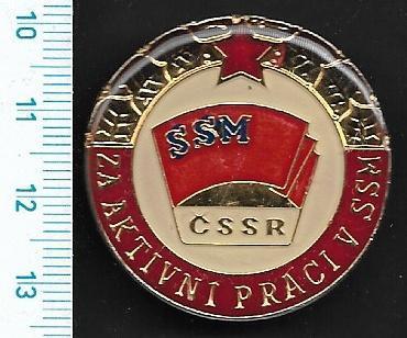 Vyznamenání - SSM Za aktivní práci /FA-VK.144