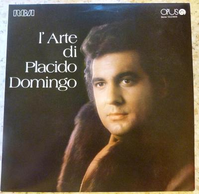 LP Placido Domingo - L'Arte Di Placido Domingo
