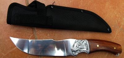 Lovecký nůž vlk 27 cm