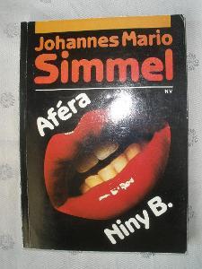 AFÉRA NINY B. -  Johannes Mario Simmel - foto v popisu