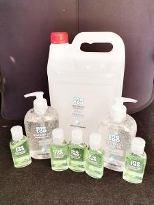 Balíček hygienických gelu