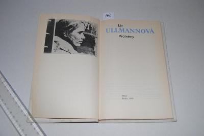 Proměny, autor Liv Ullmannová AKCE !!!