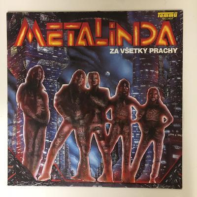 LP vinyl Metalinda - Za všetky prachy RARITNÍ LP z roku 1991 gramo