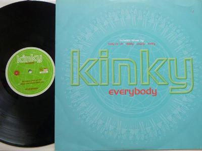 Kinky - Everybody includes mixes by Tony De Vit / Diddy / Sharp /Kinky