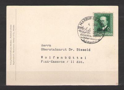 Postkarte Deutsches Reich 1940