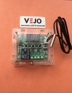 Digitální termostat teploty W1209 v krabičce
