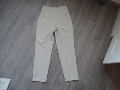 Zara kalhoty-S-béžové