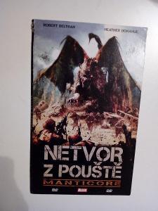 DVD, film Netvor z pouště