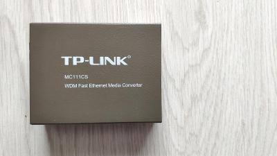 média konvertor TP-LINK MC111CS