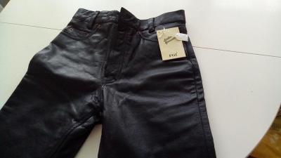 dámské kožené kalhoty na moto