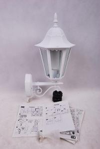 Venkovní světlo se senzorem ZAGREB zn.Massive bílá (6271M)