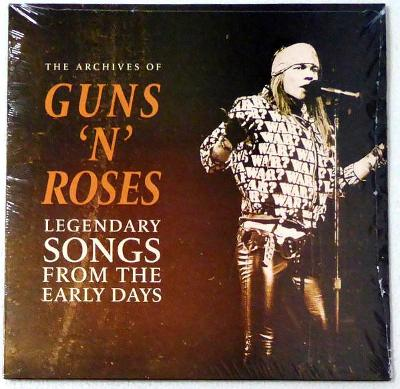 Guns N' Roses ‎– Legendary Songs From The Early Days /PEČETĚNO, limit/