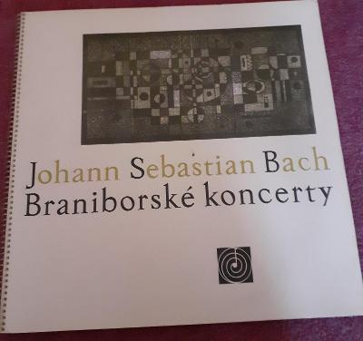 LP - J.S.Bach - Braniborské Koncerty (2LP - 1965) / Perfektní stav!