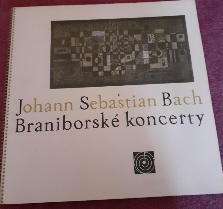LP - J.S.Bach - Braniborské Koncerty (2LP - 1965) / Perfektní stav! - Hudba