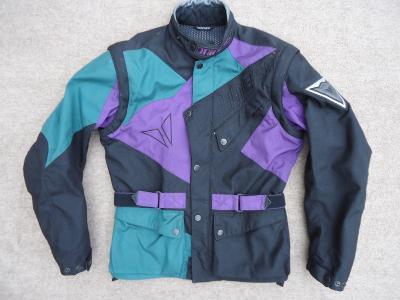 pánská textilní motorkářská bunda DAINESE vel. S/46 #100