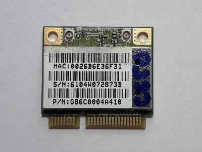 Wifi karta Toshiba Satellite C650-145 - Doklad - Záruka