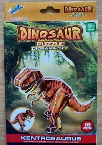 3D puzzle dinosaurus Kentrosaurus