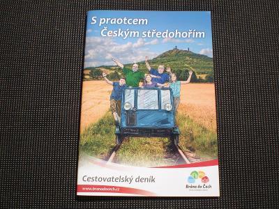 České středohoří - cestovatelský deník s mapou