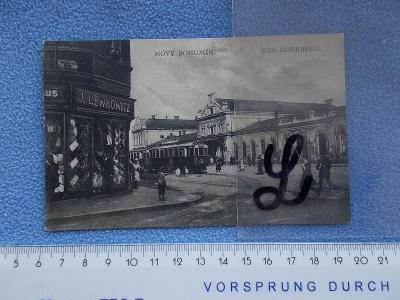 Slezsko Karviná Nový Bohumín Oderberg železnice tramvaje lidé živá