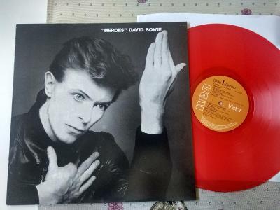 "David  BOWIE  "" Heroes ""  /RCA PL12522/ farebny vinyl,nova,"