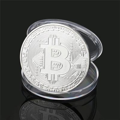 Pamětní mince - Bitcoin kryptoměna