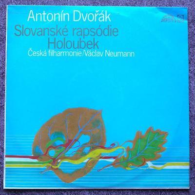 LP Antonín Dvořák, Česká Filharmonie - Slovanské Rapsódie / Holoubek
