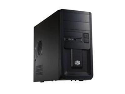 Černá top skříň CoolerMaster case minitower Elite 343, mATX se zárukou