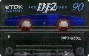 Audio Kazeta TDK DJ2 90 DJ2 60 Position Chrome 3ks MC