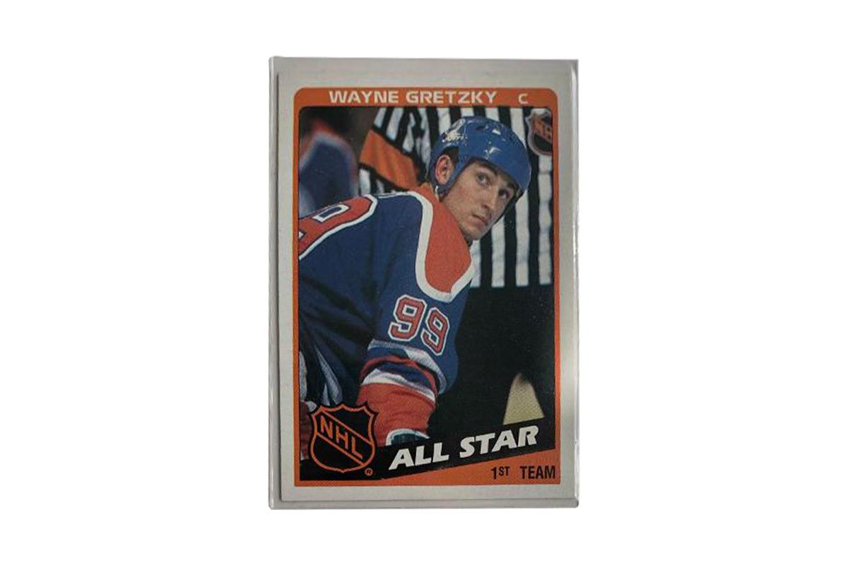 Hokejová karta Wayne Gretzky 1984-85
