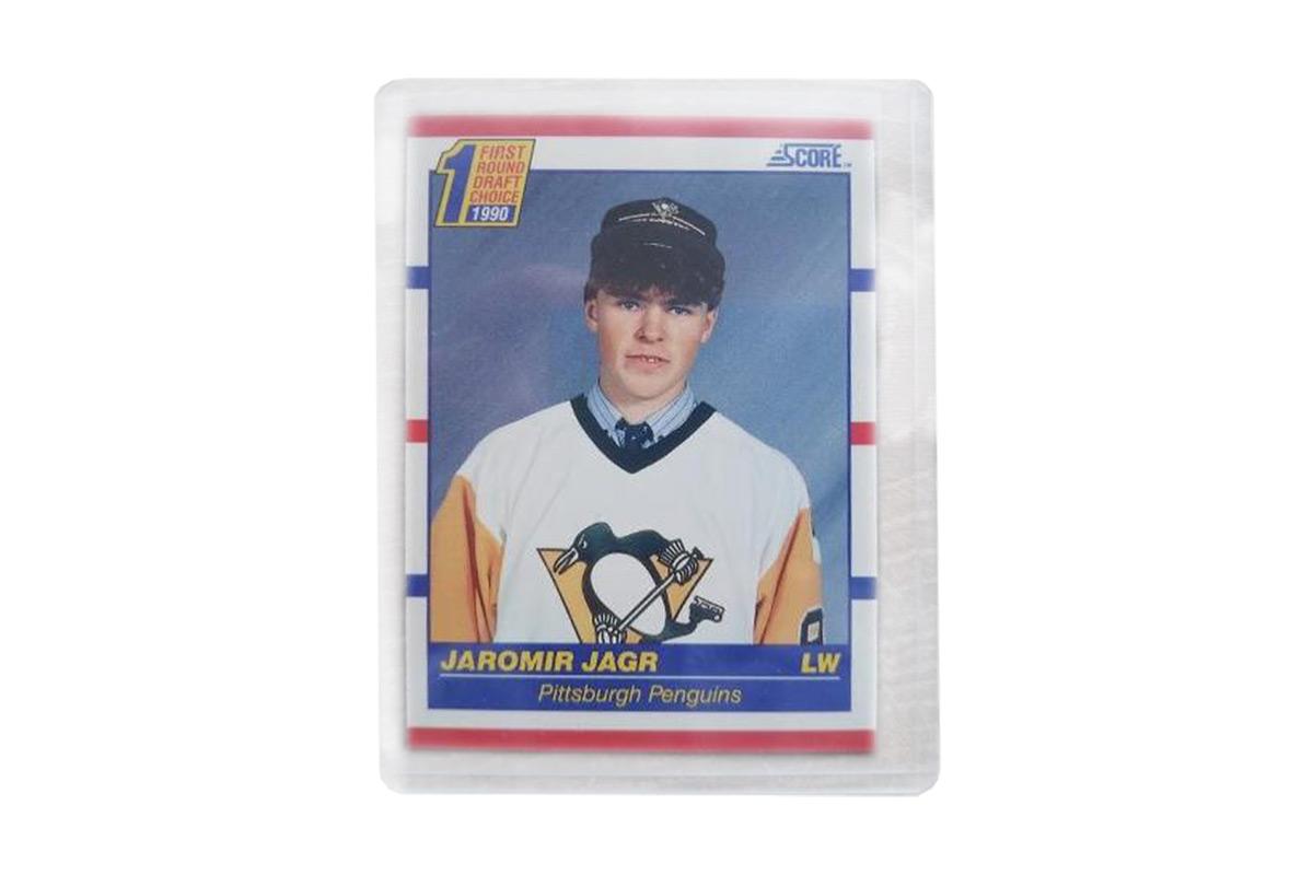 Hokejová karta Jaromír Jágr Rookie